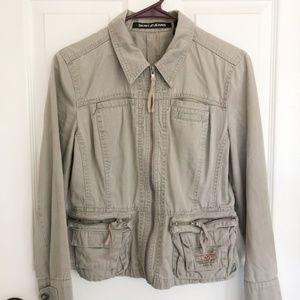 DKNY Tan Utility Jacket